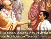 Romapada Swami on Proper Hearing