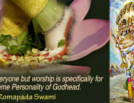 romapada swami on bhakti is for krishna