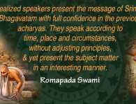 romapada swami on quality of preacher