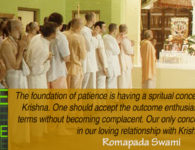 romapada swami on Components of patience