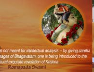 romapada swami on Proper approach to Srimad Bhagavatam