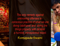 romapada swami on conscious chanting practice